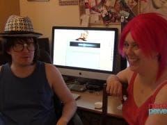 Jessica Jensen baisée par un informaticien - MESVIP