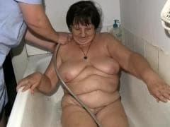 Gisela est une mature avec des seins énormes - MESVIP