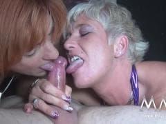 Yvonne J et Alexandra H sucent - Vídeos Hard - MESVIP